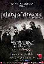 Concert Diary of Dreams în The Silver Church din Bucureşti