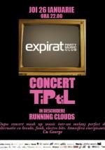 Concert TiPtiL în Club Expirat din Bucureşti