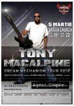 Concert Tony MacAlpine la Bucureşti