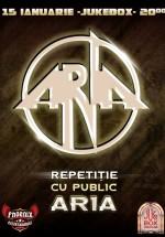 Concert ARIA – repetiţie cu public în club Jukebox din Bucureşti