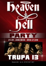 Concert Trupa 13 (Heaven & Hell Party) în Club Jukebox din Bucureşti