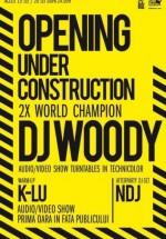 DJ Woody în Boiler Club din Cluj-Napoca