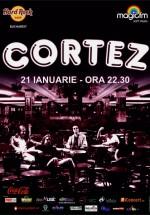 Concert Cortez în Hard Rock Cafe din Bucureşti