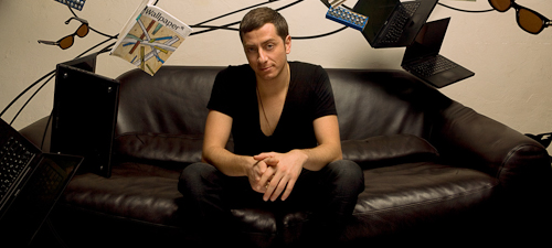 Davide Squillace va mixa la decernarea premiilor Nights.ro Awards 2012