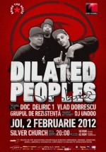 Concert Dilated Peoples în The Silver Church din Bucureşti