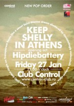 Keep Shelly in Athens la Control Club din Bucureşti