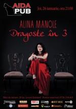 Concert Alina Manole în Aida Cafe din Bucureşti