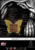 Concert Butterflies in My Stomach la Clubul Ţăranului din Bucureşti