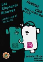 Concert Les Elephants Bizarres şi Changing Skin în Club Ageless din Bucureşti
