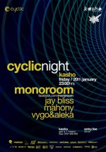 Cyclic Night în Kasho Club din Braşov