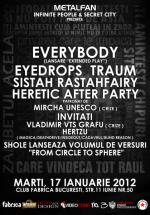 Lansare Everybody în Club Fabrica din Bucureşti