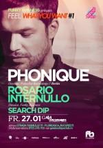 Phonique şi Rosario Internullo la Gaia Boutique Club din Bucureşti