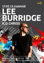 Lee Buridge în Club Midi din Cluj-Napoca