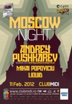 Andrey Pushkarev în Club Midi din Cluj-Napoca