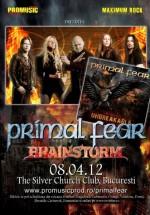 Concert Primal Fear în The Silver Church din Bucureşti