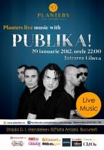 Concert Publika în Club Planters din Bucureşti