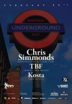 Chris Simmonds, TBF şi Kosta la Studio Martin din Bucureşti