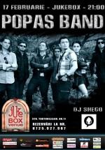 Concert Popas Band în Club Jukebox din Bucureşti