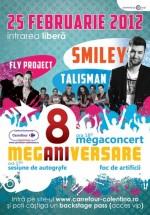 Concert Smiley, Talisman şi Fly Project la Carrefour Colentina din Bucureşti