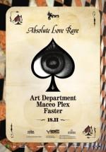 Art Department, Maceo Plex şi Faster la Studio Martin din Bucureşti