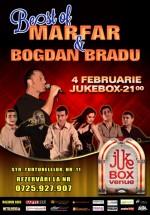 Concert Bogdan Bradu şi Marfar în Club Jukebox din Bucureşti