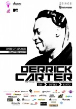 Derrick Carter în Club Space din Bucureşti
