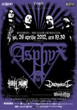 Concert Asphyx în The Silver Church din Bucureşti