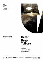 Cezar, Kozo şi Tulbure în Studio Martin din Bucureşti