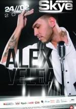 Concert Alex Velea în Club Skye din Iaşi
