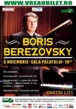 Concert Boris Berezovsky la Sala Palatului din Bucureşti
