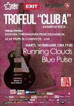 Concert Running Clouds şi Blue Pulse în Club A din Bucureşti