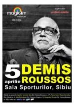 Concert Demis Roussos la Sala Sporturilor din Sibiu – ANULAT