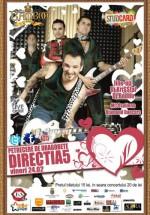 Concert dIRECŢIA 5 în Bamboo Club din Cluj-Napoca