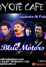 Concert Blue Motors în Coyote Cafe din Bucureşti