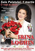 Concert Irina Loghin la Sala Palatului din Bucureşti