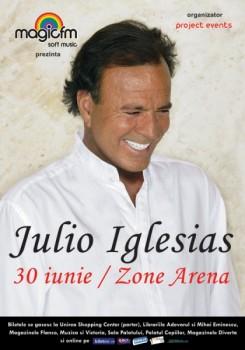 julio afis3 245x350 Concert Julio Iglesias la Zone Arena din Bucureşti