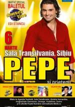Concert Pepe la Sala Transilvania din Sibiu