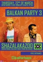 Concert Shazalakazoo la Club Kulturhaus din Bucureşti