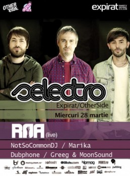 R.O.A. live la Selectro în Club Expirat & OtherSide din Bucureşti