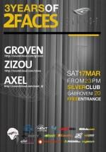 3 Years of 2 Faces în Silver Club din Bucureşti