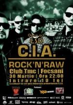 Concert C.I.A în Times Music Club din Focşani