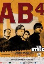 Concert AB4 în The Stage Club din Bacău