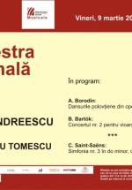 Concert Alexandru Tomescu şi Horia Andreescu la Sala Radio din Bucureşti