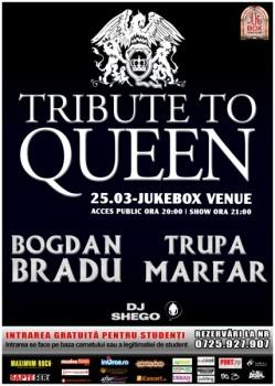 Tribut Queen în Jukebox Venue din Bucureşti