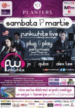 Concert FunkWhite în Club Planters din Bucureşti