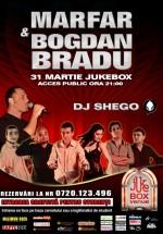Concert Marfar şi Bogdan Bradu în Club Jukebox Venue din Bucureşti