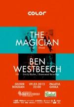 The Magician şi Ben Westbeech la Palatul Ghika din Bucureşti