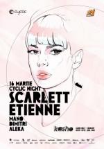 Scarlett Etienne în Club Kasho din Braşov