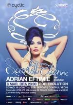 Scarlett Etienne în Club Our Evolution din Bucureşti