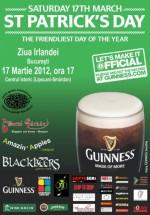 St. Patrick's Day Open Air Celebrations în Centrul Istoric din Bucureşti